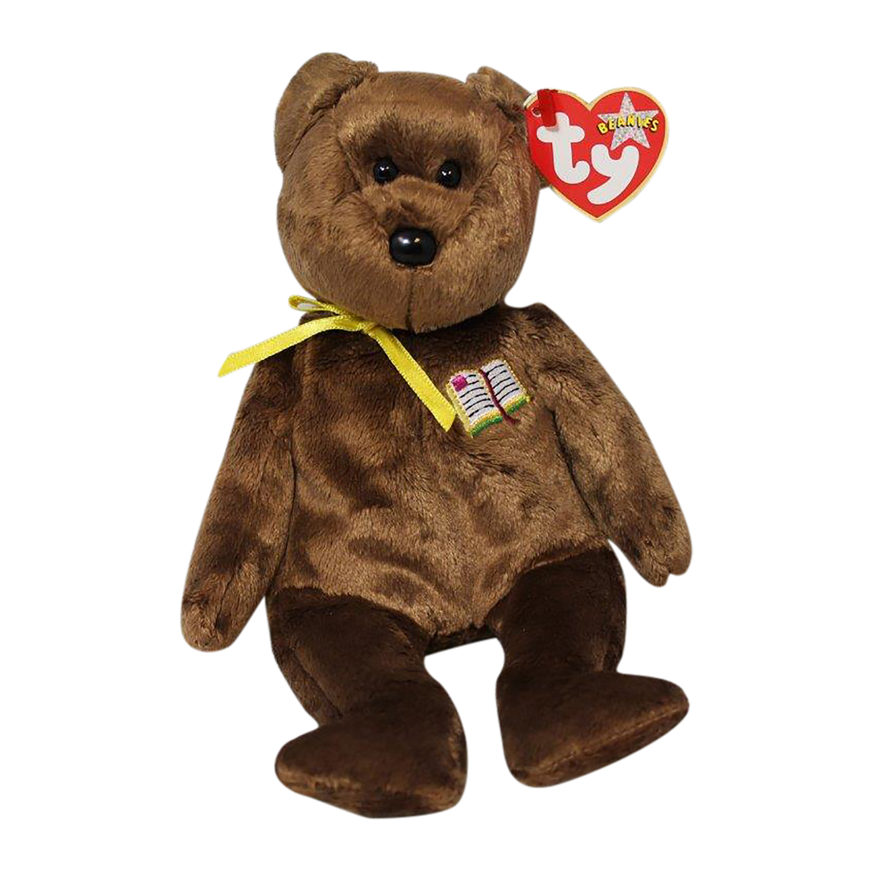 ea84fc8af20 Ty Beanie Baby William open - MWMT (Bear Open Book Version UK ...